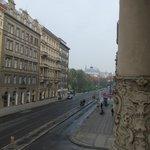 Widok z balkoniku