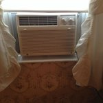 Old & poorly cooling air conditioner