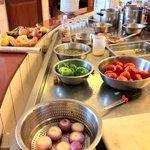 Atelier Cuisine ultra saine,végétarienne.