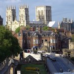 We are in the beautiful city of York