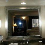 Bathroom area. Room 1001