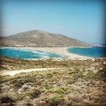 Spiaggia vista dalla penisola