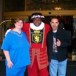 Friendly Beefeater and Greeter