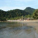 Praia privativa