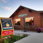 We are located inside the Bryce Canyon Inn motel office on Highway 12. Tropic,Utah