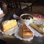 Great Dessert Selection!