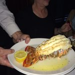 One pound lobster tail!