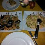 meravigliosi questi piatti. bellissima sorpresa per me e la mia ragazza