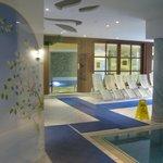 Indoor swimming pool.