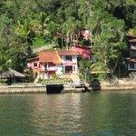 Casa numa ilha próxima
