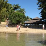 Praia numa das ilhas