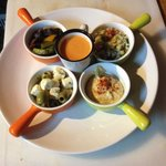 Casbah plate All vegetarian