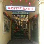 Salzburg - Restaurant Alt Salzburg - Eingang