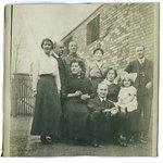 my ancestors circa 1917 near the cafe