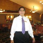 Rosa Rangel at Restaurant at Hiltons