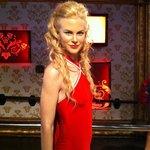 Estátua de cera da Nicole Kidman