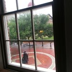 View out of Court Room of Old State Capitol