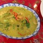 Green curry Kelly taught me...
