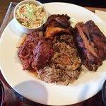 LTD (Living the Dream) Pulled pork, Ribs, Brisket, Chicken, Slaw