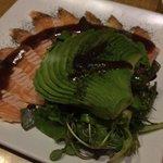 Osaka Salad - Amazing Fresh Avocado, Greens, and Salmon