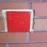 The identifying red tile