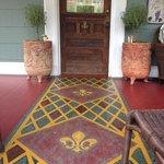 Front door / porch