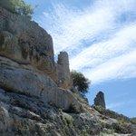 Approaching Fort de Buoux