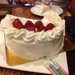 Best strawberry cake, yummy