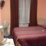 July 2014. Room w/ own bath. Tiny. Bed was so terribly uncomfortable and blanket had long black