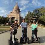 Visit the State Capital on a guided tour via Segway. Gliding Revolution offers daily historical