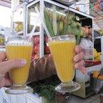 Recomiendo jugo de frutas frescas!