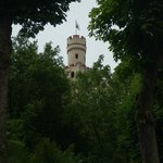 Marksburg Castle looking up from Braubach