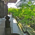 Walkway around the temple