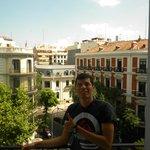Desde el balcón de la hab del hostel