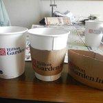 コーヒーサービス カバーが便利