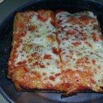 """""""Cuts"""" of Sicilian pizza"""