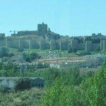 Murallas medievales de Ávila desde bus