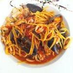 Gluten free spaghetti marinara