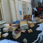 méga plateau de fromages  de france