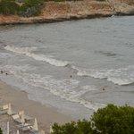 scorcio di spiaggia