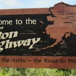 Dalton Highway Sign.