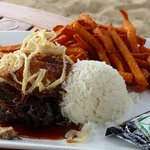 The food of the Hale Kai Restaurant