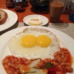 hearty breakfast at Anise