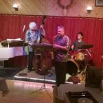 From a jazz session in the restaurant, the Kindred Spirit, at Catskill Mtn. Lodge