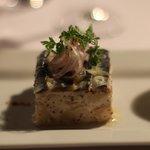 Compressé de sardines marinées et pommes de terre Roosvalt