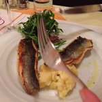 Sea bass (and a fork, sorry)