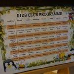 Kid's room programme