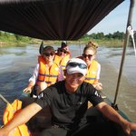 Boat cruise on the Mekong