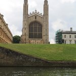 Kings College Chapel from the River Cam