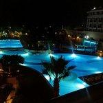 Pool on the night